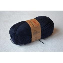 Lanoso Моточная пряжа Natural Merino материал  смесовка темно-синий 958