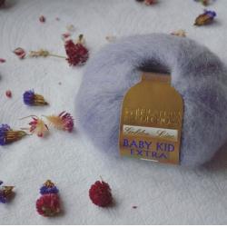 Filatura Di Crosa Моточная пряжа Baby Kid Extra материал кид мохер цвет лаванда  506