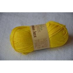 Fibranatura Моточная пряжа Babmboo Jazz материал смесовка цвет яркий лимон 213
