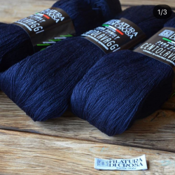Filatura Di Crosa  пряжа в пасмах Centolavaggi материал меринос  цвет синий   126