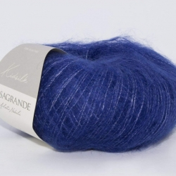 Casagrande Моточная пряжа Kidsilk материал кидмохер, шелк цвет синий
