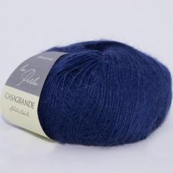 Casagrande Моточная пряжа La Perla материал альпака, шелк цвет кобальт 11