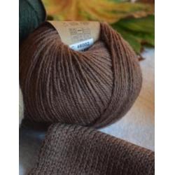 Gazzal Fancy Yarns Моточная пряжа Baby Alpaca материал  альпака цвет древесная кора 46002