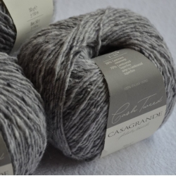 Casagrande Моточная пряжа CashTweed материал меринос+кашемир цвет светло-серый 219