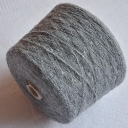 New Mill Пряжа на бобинах Barrique материал смесовка цвет  серый