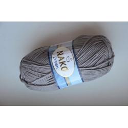 Nako Моточная пряжа Denim материал  смесовка цвет темно-серый 11581