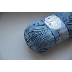 Nako Моточная пряжа Denim материал  смесовка цвет светлый джинс 11576