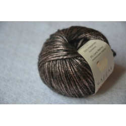 Gazzal Fancy Yarns Моточная пряжа Rock N Roll материал  смесовка цвет светлый шоколад 13181