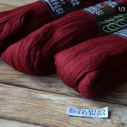 Filatura Di Crosa  пряжа в пасмах Centolavaggi материал меринос  цвет винный   151