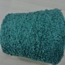 New Mill Пряжа на бобинах Soffice материал смесовка цвет изумруд с тиффани