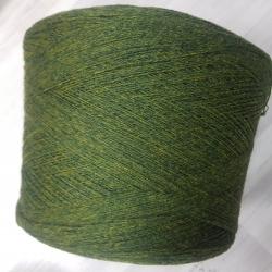 Zegna Baruffa Пряжа на бобинах Kent 2/18 материал меринос цвет  зелень