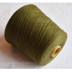 Manifatture Associate Ponte Felcino (Италия) Пряжа на бобинах Cashmere материал кашемир цвет оливки