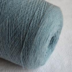 Pecci Filati Пряжа на бобинах Fremito материал альпака нейлон цвет голубая полынь