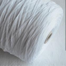 Fashion Mill Пряжа на бобинах Gusto материал вискоза цвет белый