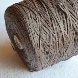 Fashion Mill Пряжа на бобинах Gusto материал вискоза цвет какао