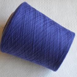 Zegna Baruffa Пряжа на бобинах Cashmere материал кашемир цвет васильковый
