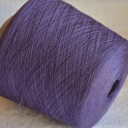 New Mill Пряжа на бобинах Lustroso материал лен цвет аметист