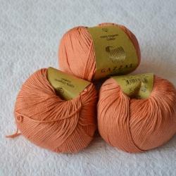 Gazzal Fancy Yarns Моточная пряжа Organic Baby Cotton материал  органическиий хлопок цвет хурьма 438
