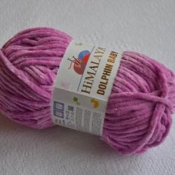 Himalaya Моточная пряжа Dolphin Baby материал  смесовка цвет розовая сирень 80356