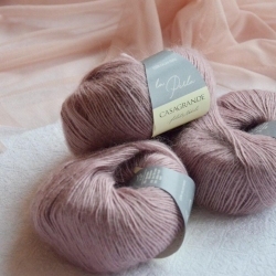 Casagrande Моточная пряжа La Perla материал альпака, шелк цвет античная роза