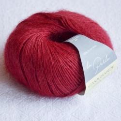Casagrande Моточная пряжа La Perla материал альпака, шелк цвет красная груша