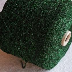 Igea Пряжа на бобинах Flame материал люрекс цвет зелени
