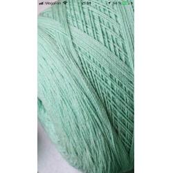 Igea Пряжа на бобинах Bellabimba материал смесовка цвет зеленая мята