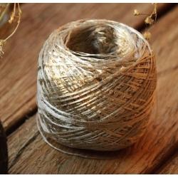Cofil Пряжа на бобинах Pailetes материал меринос золотой песок