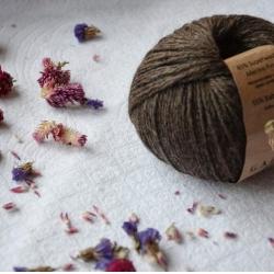 Gazzal Fancy Yarns Моточная пряжа Baby Alpaca материал  альпака цвет древесная кора 46015