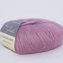 Casagrande Моточная пряжа La Perla материал альпака, шелк цвет увядающая роза 05