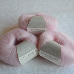 Casagrande Моточная пряжа Kidsilk материал кидмохер, шелк цвет  роза бэби 15