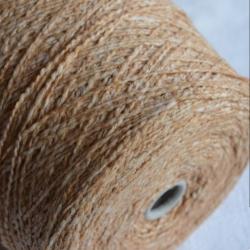 New Mill Пряжа на бобинах Scubidu материал хлопок лен цвет бежевый
