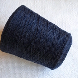 Loro Piana Пряжа на бобинах Superflex материал кашемир цвет темно-синий