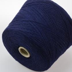 Natural Fantasy  Пряжа на бобинах Extageelong материал меринос  цвет темно-синий