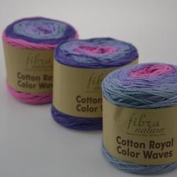 Fibranatura Моточная пряжа Cotton Royal материал  хлопок цвет мултиколор 22-08