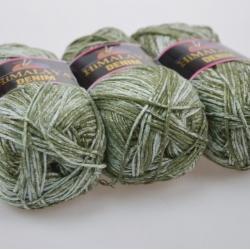 Himalaya Моточная пряжа Denim материал  хлопок цвет  хаки 115-03