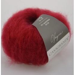 Casagrande Моточная пряжа Vogue материал суперкидмохер, шелк цвет красная ягода 009