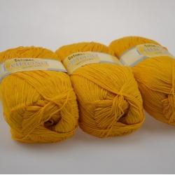 Lanoso Моточная пряжа Cotonax материал  смесовка цвет горчица 913