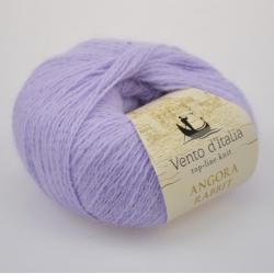 Vento d'Italia Моточная пряжа Angora 70 Rabbit материал  цвет светлая сирень  02
