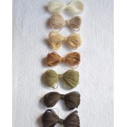 Lanerossi Пряжа на бобинах Folco материал меринос+акрил  цвет коричневый