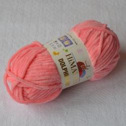 Himalaya Моточная пряжа Dolphin Baby материал  смесовка цвет розовый персик 80346