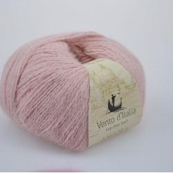 Vento d'Italia Моточная пряжа Angora 70 Rabbit материал  ангора цвет светло-розовый  41