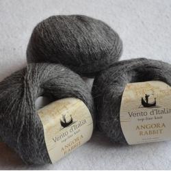 Vento d'Italia Моточная пряжа Angora 70 Rabbit материал ангора цвет маренго 12