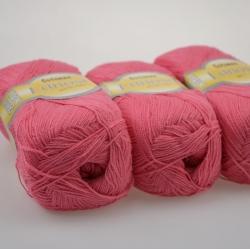 Lanoso Моточная пряжа Cotonax материал  смесовка цвет розовая мальва 933