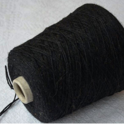 Millefili Пряжа на бобинах Angora 70 материал ангора цвет черный