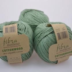 Fibranatura Моточная пряжа Cottonwood материал органический хлопок цвет нефрит 41112