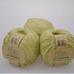 Fibranatura Моточная пряжа Cottonwood материал органический хлопок цвет оттенок липы 41103
