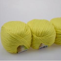 Lanoso Моточная пряжа Bambumm Class материал бамбук с хлопком цвет яркий  лимон  913