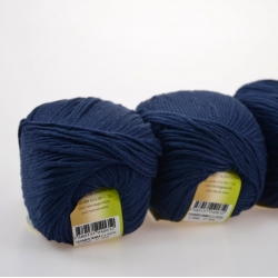 Lanoso Моточная пряжа Bambumm Class материал бамбук с хлопком цвет темно-синий 958
