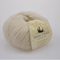 Vento d'Italia Моточная пряжа Angora 70 Rabbit материал ангора цвет бежевый 34